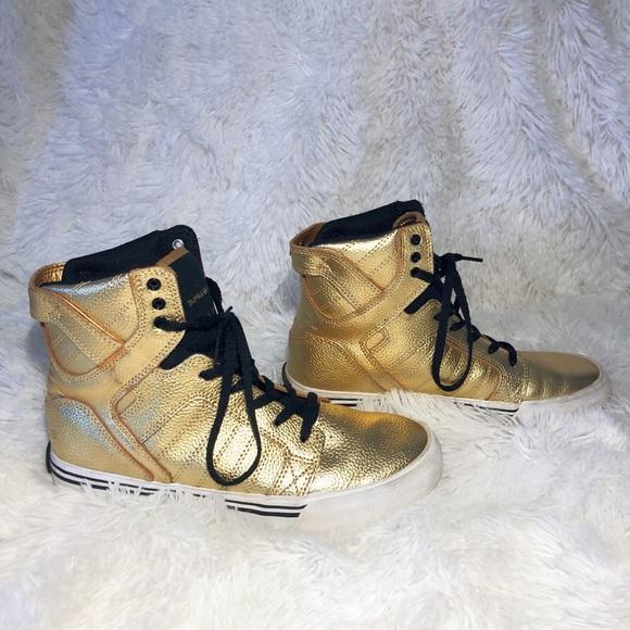 Supra Shoes | Supra Muska 0 Gold
